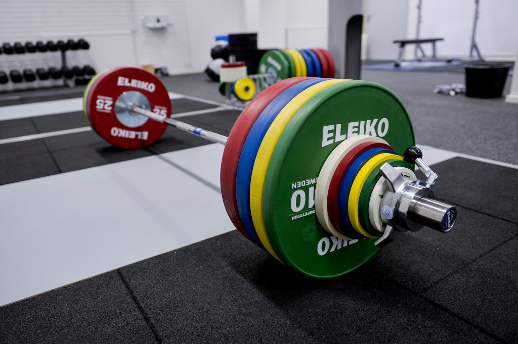 Eleiko Competition bars and plates.